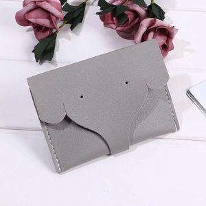 Handbags - Elephant Wallet Card Holder PU Vinyl Faux Leather